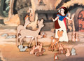 Animation Art:Limited Edition Cel, Snow White and the Seven Dwarfs Limited Edition CelAnimation Original Art #HC 3/25 (Walt Disney, 1994)....
