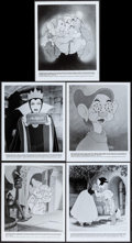 """Movie Posters:Animation, Snow White and the Seven Dwarfs (Buena Vista, R-1983). Photos (5) (8"""" X 9.75""""). Animation.. ... (Total: 5 Items)"""