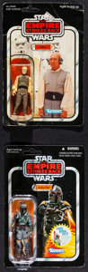 "Movie Posters:Science Fiction, The Empire Strikes Back (Kenner and Hasbro, 1980 & 2010).Action Figures (2) (1.75"" X 3.75"", 4"") on Cards (6"" X 9"") ""Lobot""... (Total: 2 Items)"
