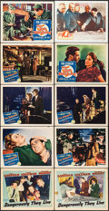"""Movie Posters:War, Dangerously They Live & Others Lot (Warner Brothers, 1942).Lobby Cards (12) (11"""" X 14""""), One Sheets (7), & InternationalOn... (Total: 20 Items)"""