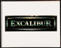 "Movie Posters:Fantasy, Excalibur (Warner Brothers, 1981). Production Book (13 Pages, 14"" X 11""). Fantasy.. ..."