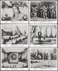 """Movie Posters:Animation, Fantastic Planet (New World, 1973). Photos (6) (8"""" X 10"""").Animation.. ... (Total: 6 Items)"""