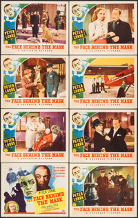 "The Face Behind the Mask (Columbia, 1940). Lobby Card Set of 8 (11"" X 14""). Film Noir. ... (Total: 8 Items)"