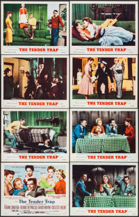 "The Tender Trap (MGM, 1955). Lobby Card Set of 8 (11"" X 14""). Comedy. ... (Total: 8 Items)"