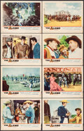 "Movie Posters:Western, The Alamo (United Artists, 1960). Lobby Card Set of 8 (11"" X 14""). Western.. ... (Total: 8 Items)"