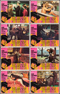 """Movie Posters:Crime, Coogan's Bluff (Universal, 1968). Lobby Card Set of 8 (11"""" X 14"""").Crime.. ... (Total: 8 Items)"""