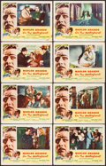 "Movie Posters:Academy Award Winners, On the Waterfront (Columbia, 1954). Lobby Card Set of 8 (11"" X14""). Academy Award Winners.. ... (Total: 8 Items)"