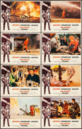 """Movie Posters:Action, Hellfighters (Universal, 1969). Lobby Card Set of 8 (11"""" X 14""""). Action.. ... (Total: 8 Items)"""
