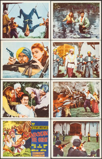 "Sandokan the Great (MGM, 1965). International Lobby Card Set of 8 (11"" X 14""). Adventure. ... (Total: 8 Items)"
