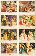 """Movie Posters:Fantasy, She (MGM, 1965). Lobby Card Set of 8 (11"""" X 14""""). Fantasy.. ...(Total: 8 Items)"""