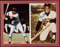 Autographs:Others, Willie Mays Signed Display Lot of 2.. ...