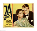 """Movie Posters:Drama, 24 Hours (Paramount, 1931). Lobby Cards (3) (11"""" X 14""""). Offeredhere are three vintage, theater-used lobby cards for this d... (3items)"""