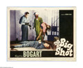 """Movie Posters:Crime, The Big Shot (Warner Brothers, 1942). Lobby Card (11"""" X 14"""").Offered here is a vintage, theater-used lobby card for this cr..."""