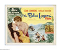 "Movie Posters:Adventure, The Blue Lagoon (Universal, 1949). Title Lobby Card (11"" X 14"").Offered here is a vintage, theater-used title card for this..."
