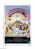 """Movie Posters:Animated, Charlotte's Web (Paramount, 1973). One Sheet (27"""" X 41""""). Offeredhere is a vintage, theater-used poster for this animated f..."""