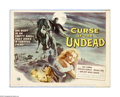 """Movie Posters:Horror, Curse of the Undead (Universal International, 1959). Title Lobby Card (11"""" X 14""""). Offered here is a vintage, theater-used t..."""