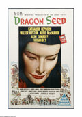 """Movie Posters:War, Dragon Seed (MGM, 1944). Australian One Sheet (27"""" X 40""""). Offeredhere is a vintage, theater-used poster for this drama dir..."""
