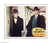 """Great Guy (Grand National, 1936). Lobby Card (11"""" X 14""""). Offered here is a vintage, theater-used poster for t..."""