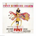 """Movie Posters:Action, In Like Flint (20th Century Fox, 1967). Six Sheet (81"""" X 81""""). Offered here is a vintage, theater-used poster for this spy c..."""