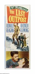 "Movie Posters:Western, The Last Outpost (Paramount, 1951). Insert (14"" X 36""). Offered here is a vintage, theater-used insert for this Western dire..."