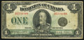 Canadian Currency, DC-25n $1 1923. ...