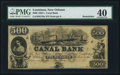 Obsoletes By State:Louisiana, New Orleans, LA- New Orleans Canal & Banking Company $500 G70a 18__ Remainder. ...