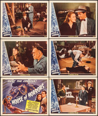 "House of Horrors (Universal, 1946). Title Lobby Card & Lobby Cards (5) (11"" X 14""). Horror. ... (Total: 6..."