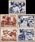 """Movie Posters:Serial, Perils of the Royal Mounted (Columbia, 1942). Title Lobby Cards (2) & Lobby Cards (3) (11"""" X 14"""") Chapters 2 and 3. Serial.... (Total: 5 Items)"""