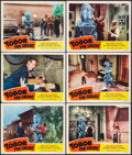 "Movie Posters:Science Fiction, Tobor the Great (Republic, 1954). Lobby Cards (6) (11"" X 14"").Science Fiction.. ... (Total: 6 Items)"
