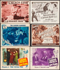 """Movie Posters:Serial, Radar Patrol vs. Spy King & Others Lot (Republic, 1949). Lobby Cards (4) & Title Lobby Card (11"""" X 14""""), & Trimmed Title Lob... (Total: 6 Items)"""