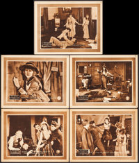 """The Adventures of Ruth (Pathé, 1919). Lobby Cards (5) (11"""" X 14"""") Episodes 5, 7, 9, 10, and 12. Serial..."""