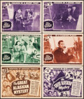 "Movie Posters:Serial, The Great Alaskan Mystery (Universal, 1944). Title Lobby Cards (2)& Lobby Cards (4) (11"" X 14"") Chapters 1, 8 and 10. Seria...(Total: 6 Items)"