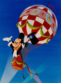 "Animation Art:Poster, Mickey Mouse ""Disney on Parade"" Dye-Transfer Print (Walt Disney, c.1971)...."