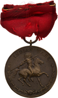 Captain Thomas McDougall: First Issue Indian Campaign Medal