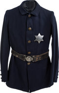 Military & Patriotic:Indian Wars, Uniform of the Rosebud Sioux Indian Police, 1890s.... (Total: 2 Items)
