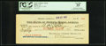 Obsoletes By State:Arizona, Bisbee, AZ- Bank of Bisbee Check $87.15 Mexican Silver Jan. 10,1907. ...
