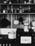 Photographs:Gelatin Silver, Beaumont Newhall (American, 1908-1993). Edward Weston'sKitchen, 1940. Gelatin silver. 9-1/2 x 7-1/4 inches (24.1 x18.4...