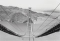 Photographs, Peter Stackpole (American, 1913-1997). Golden Gate Bridge, 1935. Gelatin silver, printed later. 8-3/4 x 12-5/8 inches (2...