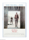 """Movie Posters:Western, Rio Lobo (National General, 1971). One Sheet (27"""" X 41""""). Offered here is a vintage, theater-used poster for this Western di..."""