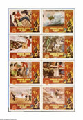 """Movie Posters:Science Fiction, Robinson Crusoe On Mars (Paramount, 1964). Lobby Card Set of 8 (11"""" X 14""""). Offered here is a vintage, theater-used lobby ca... (8 items)"""