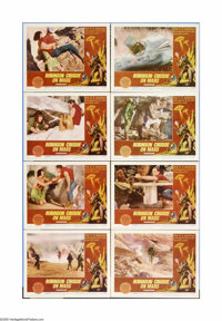 """Robinson Crusoe On Mars (Paramount, 1964). Lobby Card Set of 8 (11"""" X 14""""). Offered here is a vintage, theater..."""