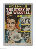 "Movie Posters:War, The Story of Dr. Wassell (Paramount, 1944). Australian One Sheet(27"" X 40""). Offered here is a vintage, theater-used poster..."