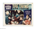 "Movie Posters:Science Fiction, The Thing From Another World (RKO, 1951). Lobby Card (11"" X 14"").Offered here is a vintage, theater-used lobby card for thi..."