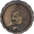 Political:3D & Other Display (pre-1896), Grover Cleveland: Walking Stick with Photo Under Glass....