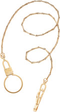 Estate Jewelry:Other, Gold Watch Chain. ...