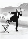 Photographs, Alfred Eisenstaedt (American, 1898-1995). Ice Skating Waiter, 1932. Gelatin silver, printed later. 17-1/2 x 13-1/2 inche...