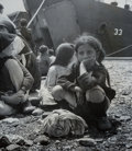Photographs, David 'Chim' Seymour (Polish, 1911-1956). Three Photographs of Orphans of the Greek War, 1948-1950. Gelatin silver. From... (Total: 3 Items)