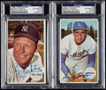 Autographs:Sports Cards, Signed 1964 Topps Giants Baseball Collection (30) With Mantle & Koufax!...