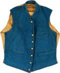 Militaria:Uniforms, Civil War U.S. Army Officer's Sky Blue Vest. Light...
