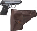 Handguns:Semiautomatic Pistol, Sauer & Sohn Semi-Automatic Pistol with Leather Holster.... (Total: 2 Items)